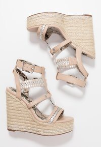 River Island Wide Fit - Sandali con tacco - light pink - 3