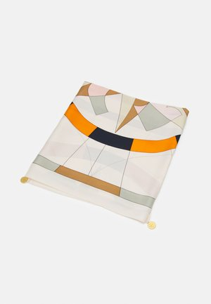 COMPASS SQUARE WITH CHARMS - Foulard - ivory