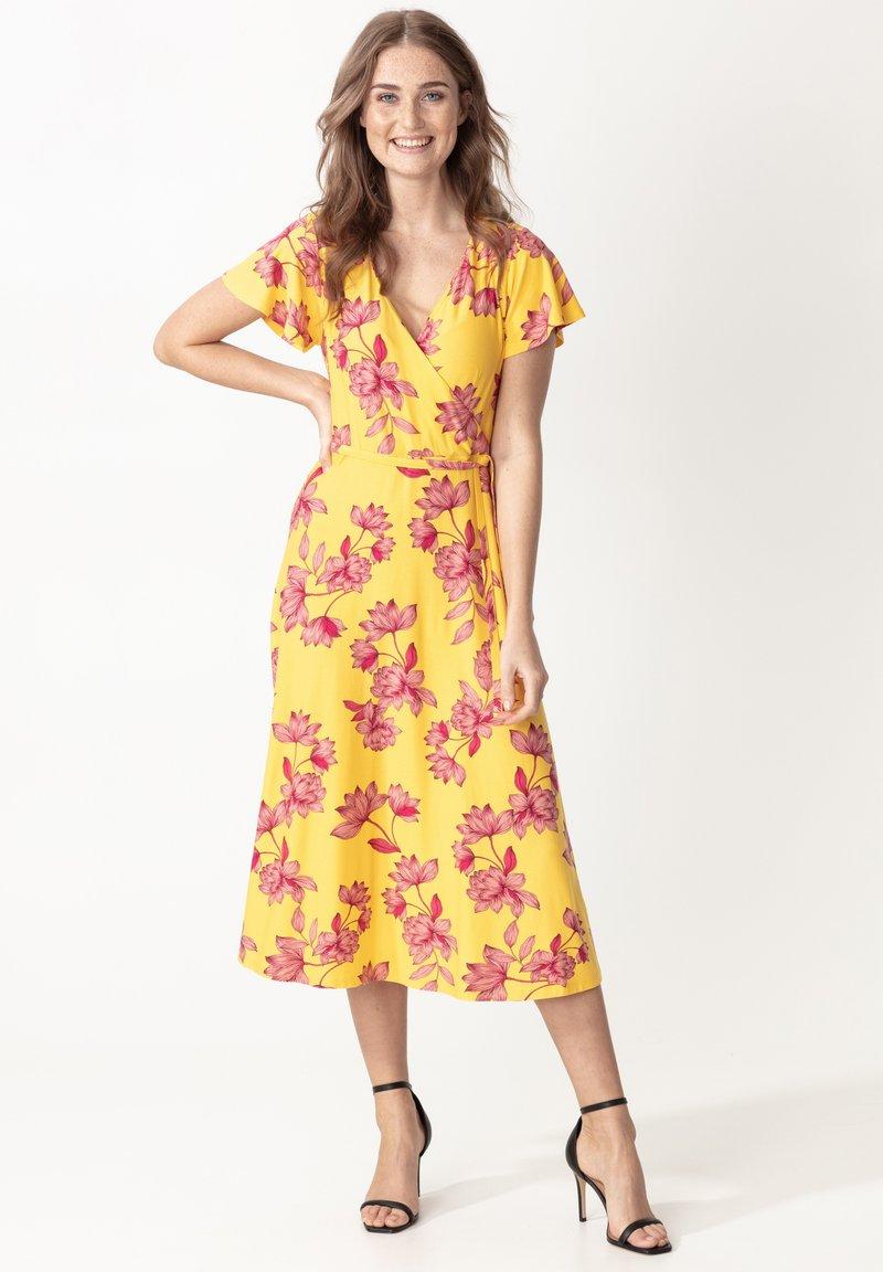 Indiska - ANIK - Denní šaty - yellow