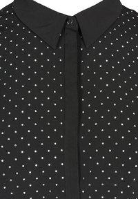 Zizzi - Button-down blouse - black - 5