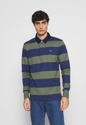 ORIGINAL BARSTRIPE HEAVY RUGGER - Polo shirt - four leaf clover