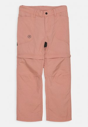 2-IN-1 ZIP OFF UNISEX - Pantaloni outdoor - ash rose