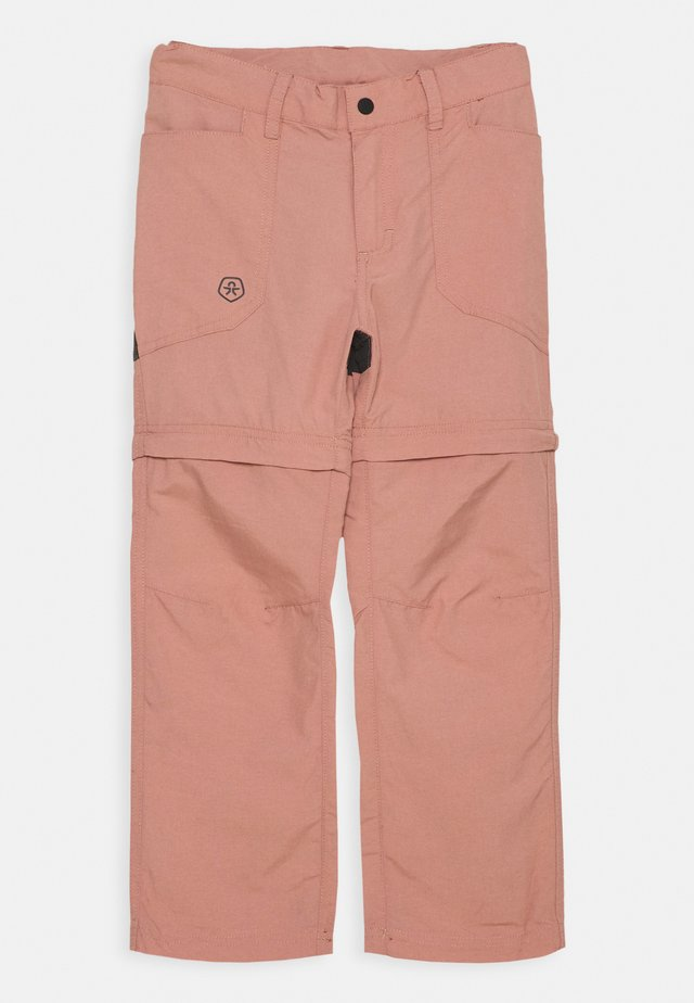 2-IN-1 ZIP OFF UNISEX - Outdoor trousers - ash rose