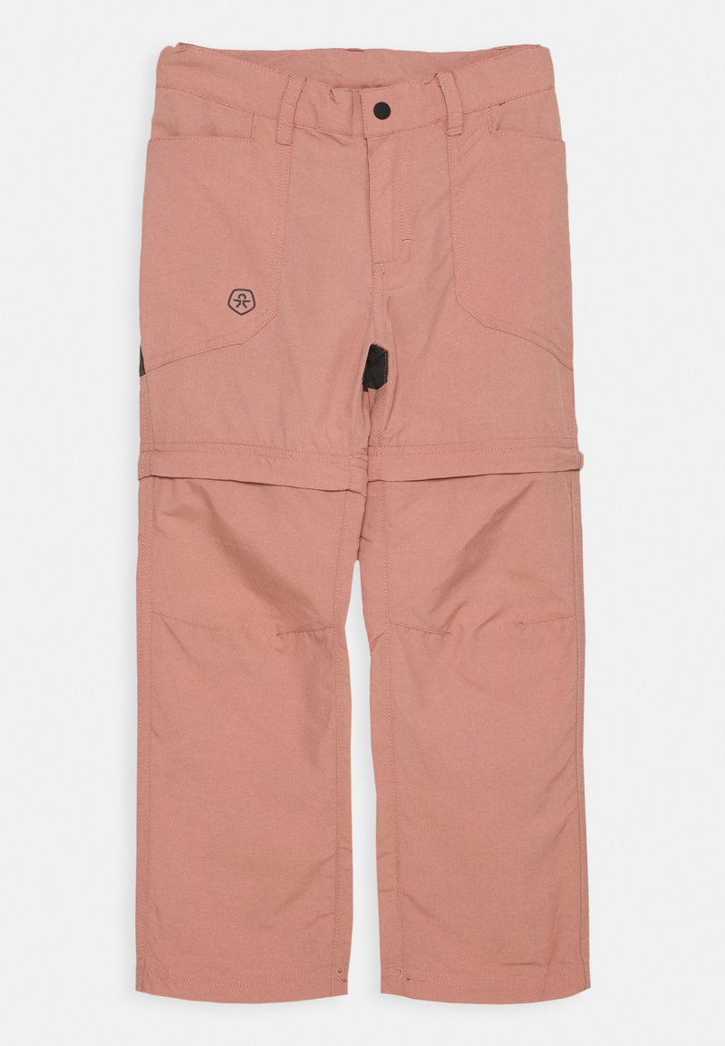 Color Kids - 2-IN-1 ZIP OFF UNISEX - Outdoor trousers - ash rose