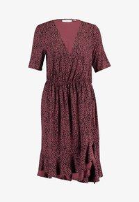MINASZ WRAP DRESS - Jersey dress - rubin