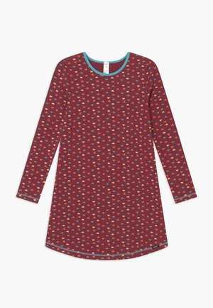 COSY NIGHT SLEEP GIRLS - Nightie - dark red