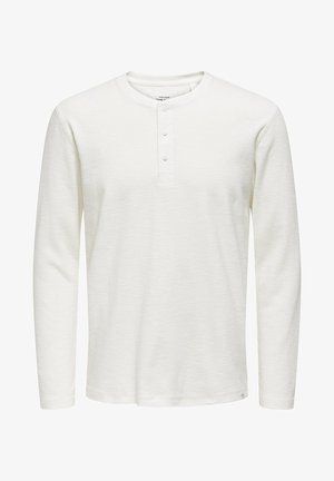 GRANDAD - Long sleeved top - cloud dancer