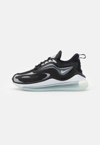 AIR MAX ZEPHYR - Sneakers - black/white/light smoke grey/pure platinum