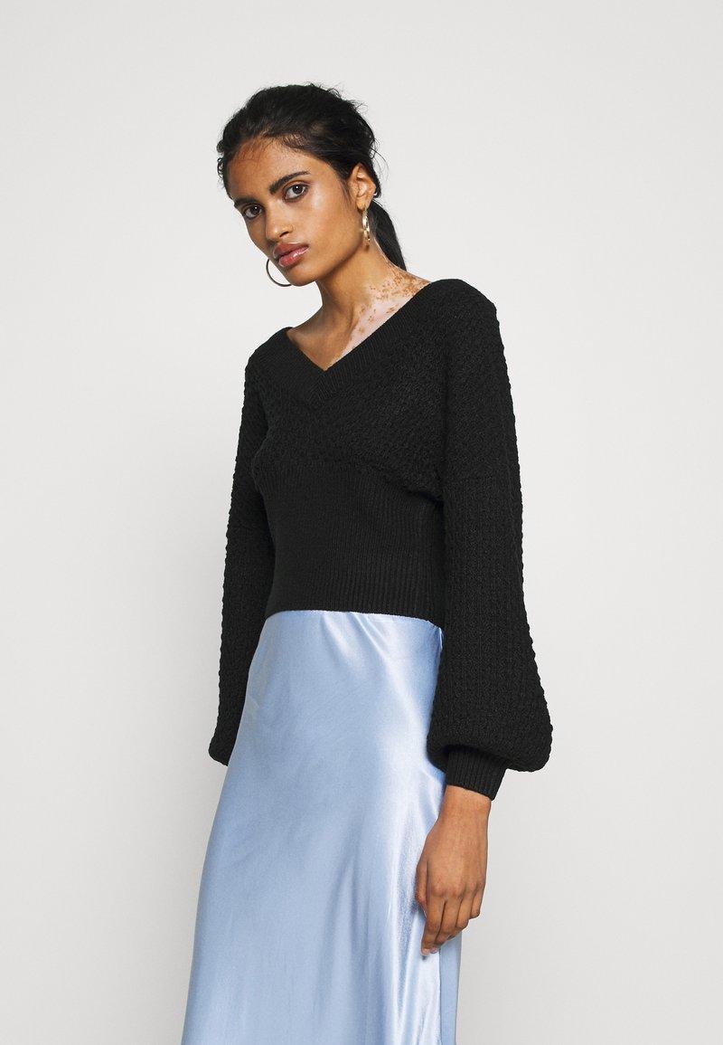 Fashion Union - HOXIE - Jumper - black