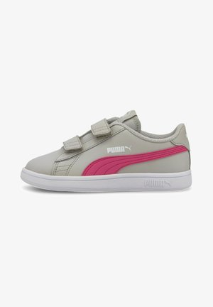 Trainers - gray violet-glowing pink