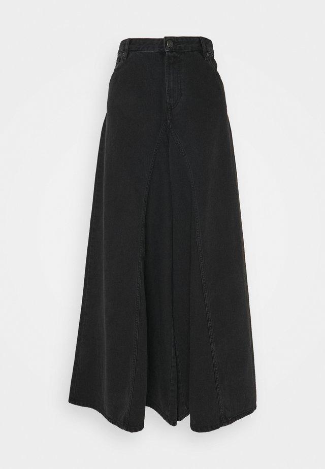 D-SPRITZZ-SP1 - Jeans a zampa - washed black