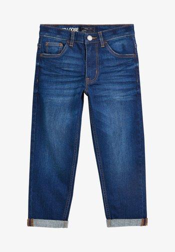 Jeans Tapered Fit - mottled royal blue