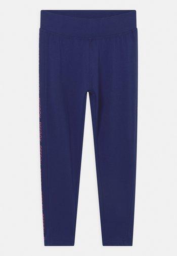 CAPRI LOGO - Leggings - Trousers - navy