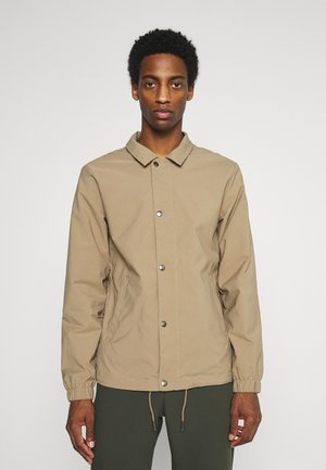 SLHSUSTAINABLE ICONICS COACH - Summer jacket - petrified oak