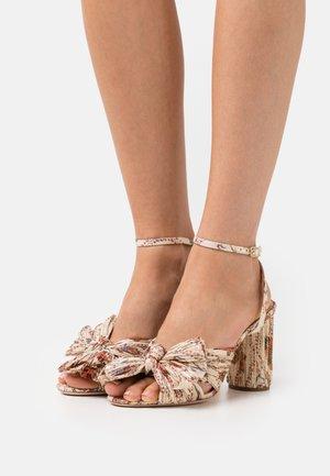 CAMELLIA - Sandals - ivory