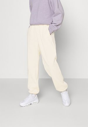 Tracksuit bottoms - coconut milk/