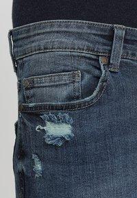 Only & Sons - LOOM BREAKS - Slim fit jeans - dark blue denim - 3