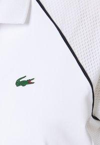 Lacoste Sport - TENNIS  - Polo shirt - white/palm green/navy blue - 2