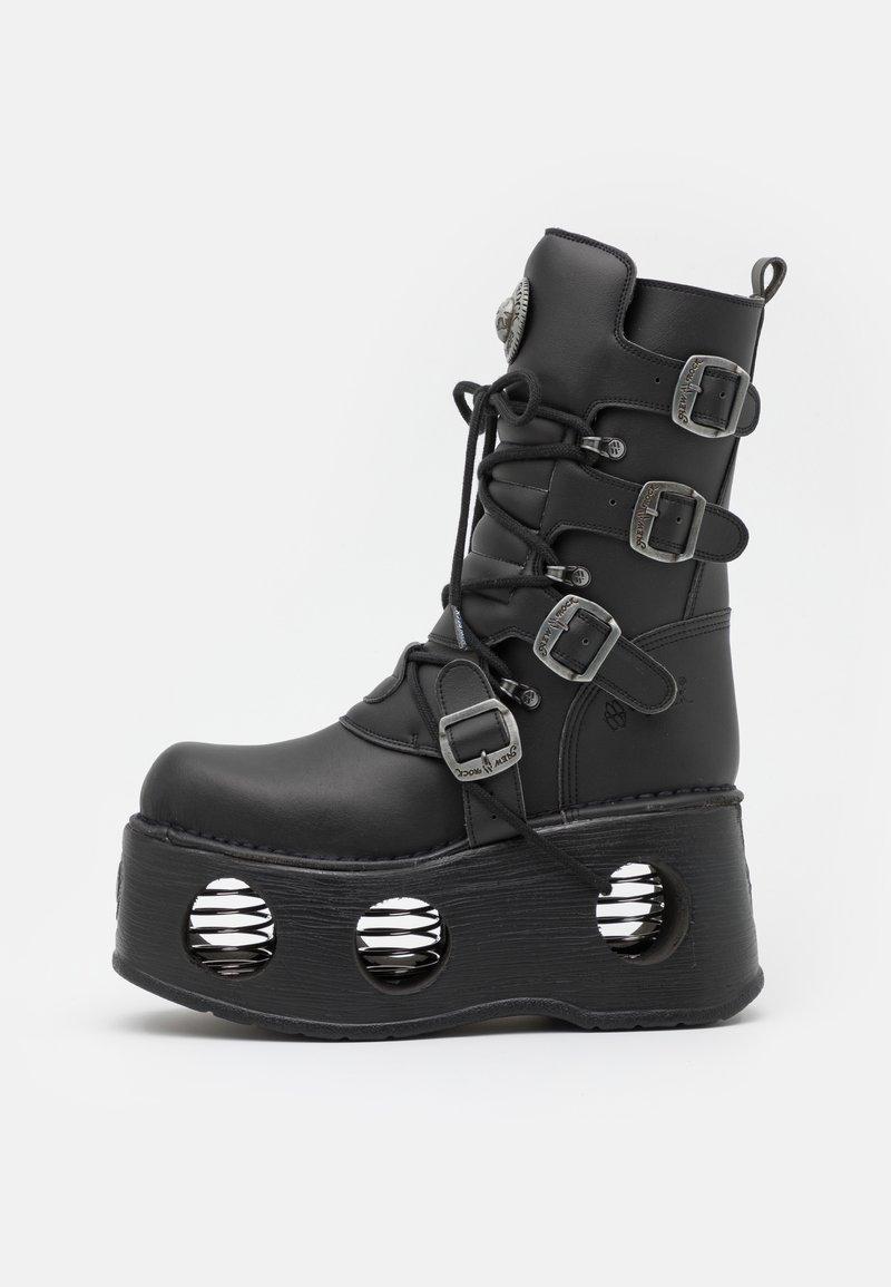 New Rock - UNISEX - Bottes à lacets - black