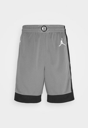 NBA BROOKLYN NETS SWINGMAN SHORT - Sports shorts - dark steel grey/black/white