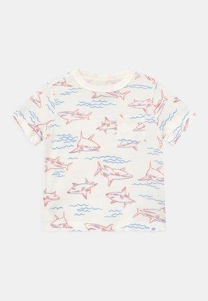 TODDLER BOY - T-shirt con stampa - white