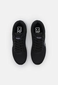 Kappa - TRUSTAL UNISEX - Scarpe da fitness - black/white - 3