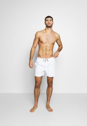JJIARUBA SWIM  SHORTS - Swimming shorts - white