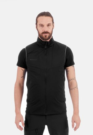 RIME LIGHT IN FLEX  - Waistcoat - black
