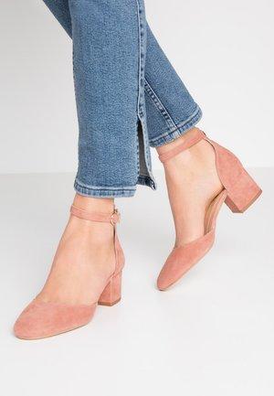 VIRGILI - Classic heels - rose poudre