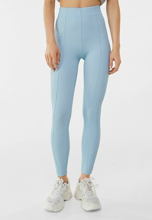 Leggings - Trousers - light blue