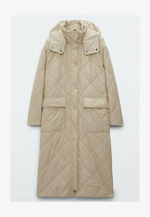 GESTEPPTE - Winter coat - beige