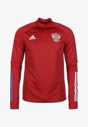 RUSSIA RFU AEROREADY - Equipación de selecciones - active maroon