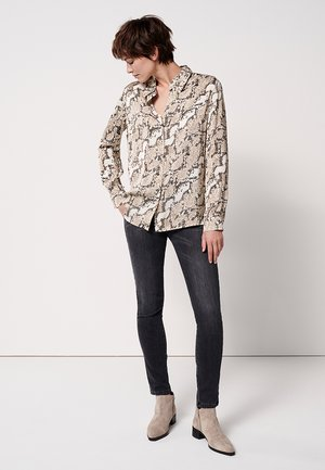 ZUMERA  - Button-down blouse - pearl mélange