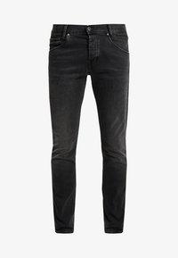 SPIKE - Jeans straight leg - black denim