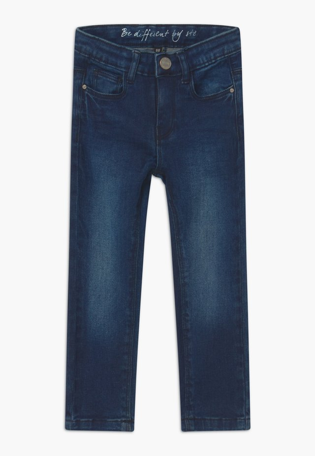 SKINNY KID - Jeans Skinny Fit - dark blue denim