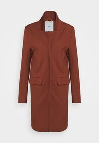PORI - Short coat - mahogany