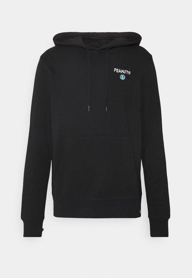 PEANUTS GOOD TIMES  - Sweatshirt - flint black