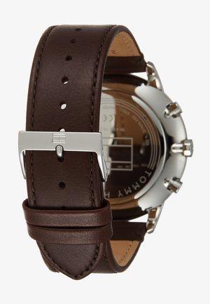 WATCH - Watch - silver-coloured/brown