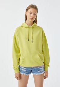 PULL&BEAR - Hoodie - yellow - 0