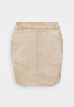 VMDONNADINA SHORT SKIRT - Mini skirt - silver mink