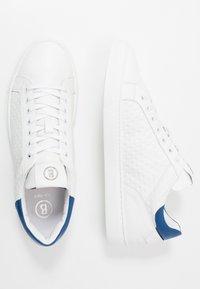 Bogner - NIZZA 25 - Matalavartiset tennarit - white/blue - 1