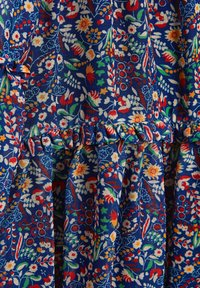 Next - FLORAL TIERED CHIFFON - Robe d'été - blue - 2