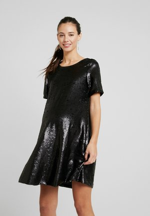 LITTLE SEQUIN DRESS - Cocktail dress / Party dress - black