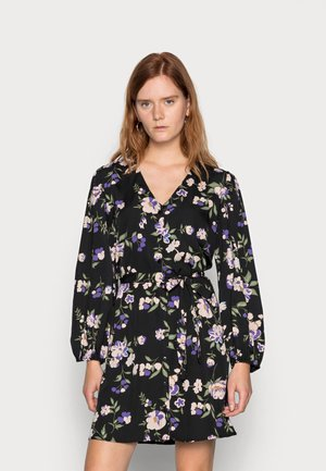 KRISSIE  - Shirt dress - black