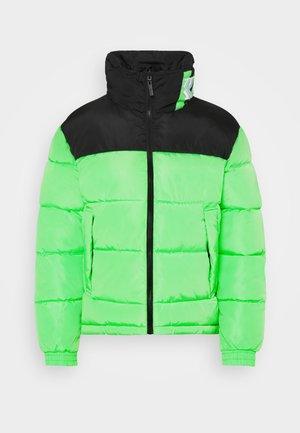 BLOCK REVERSIBLE PUFFER JACKET - Winter jacket - green