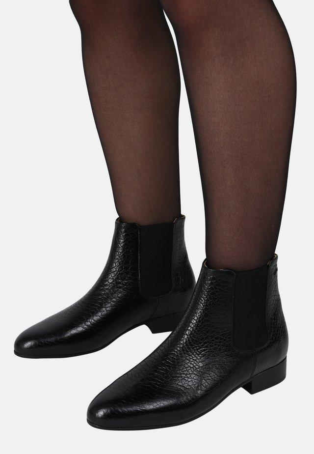 CAMILLE - ANKLE BOOTS - Korte laarzen - black