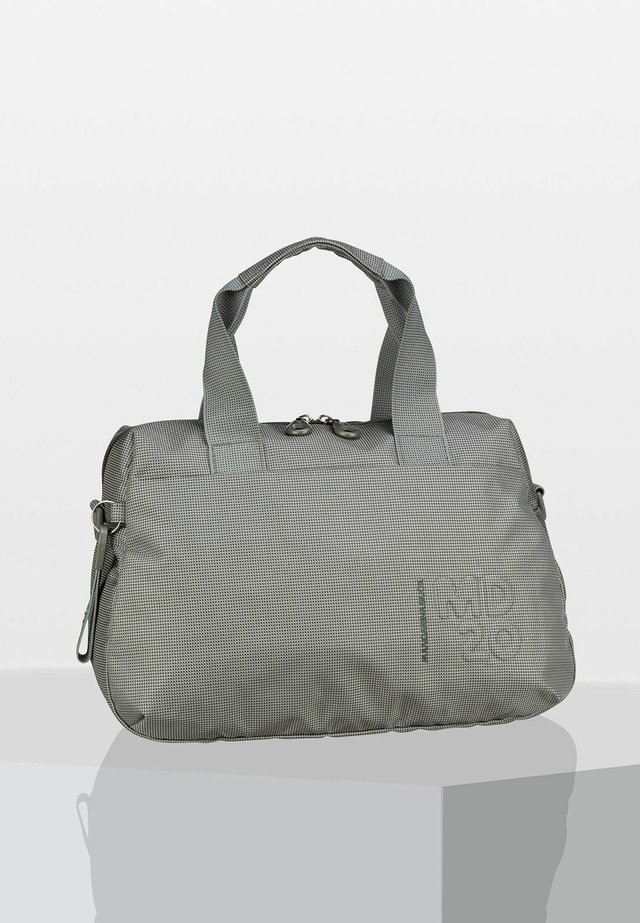 Briefcase - mottled light grey