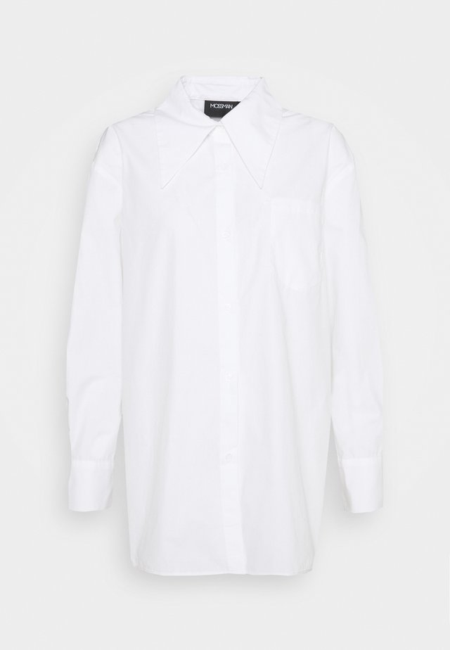 FORGET ME NOT - Button-down blouse - white