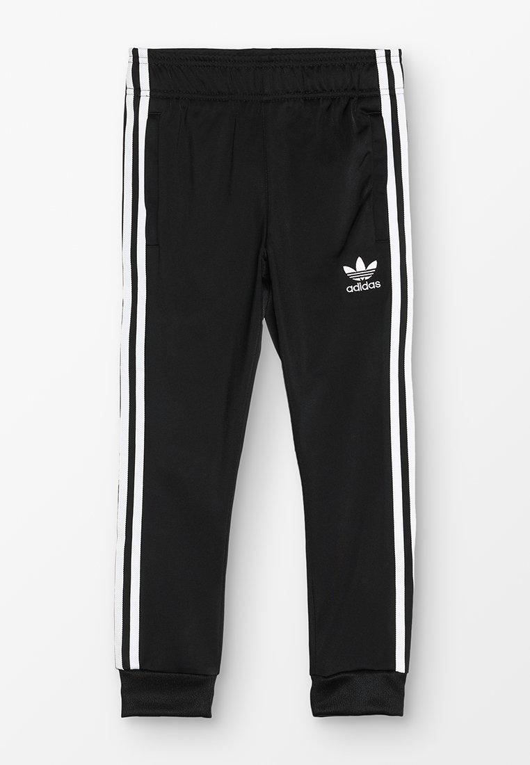 adidas Originals - SUPERSTAR PANTS - Trainingsbroek - black/white