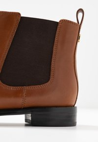 Lauren Ralph Lauren - SIGNATURE HAANA - Ankle boots - deep saddle tan - 2